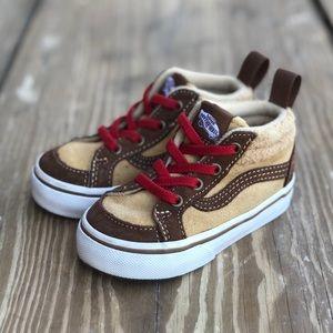 Vans sneakers size 5 toddler